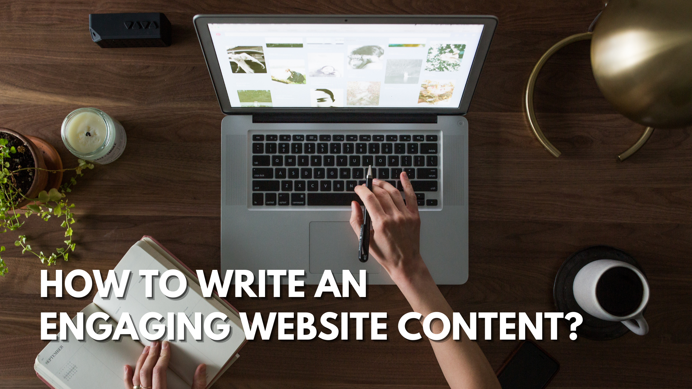 engaging website content